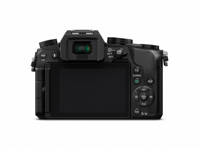 Lumix DMC-G7KS display