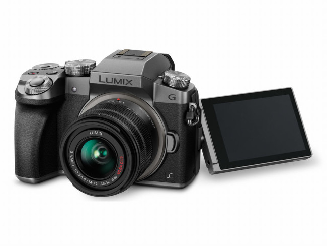 Lumix DMC-G7KS fold out display