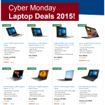 Cyber Monday Laptop Deals 2015