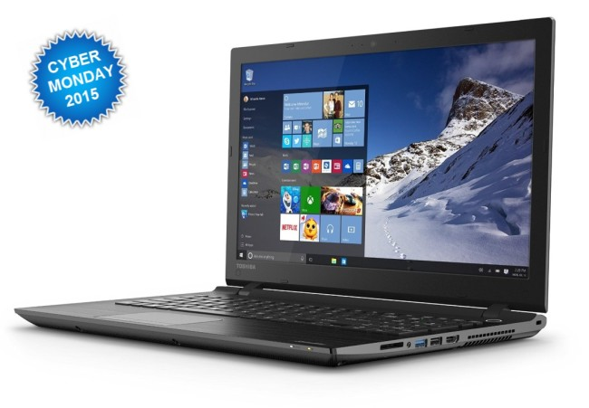 Toshiba Satellite C55 Cyber Monday Laptop Deals 2015
