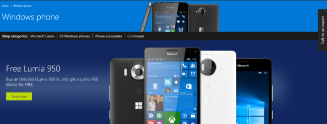 Lumia 950 XL deal
