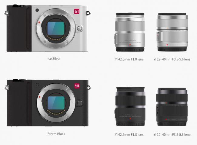 Mirrorless Xiaomi Camera Yi M1 Release October 12 In USA