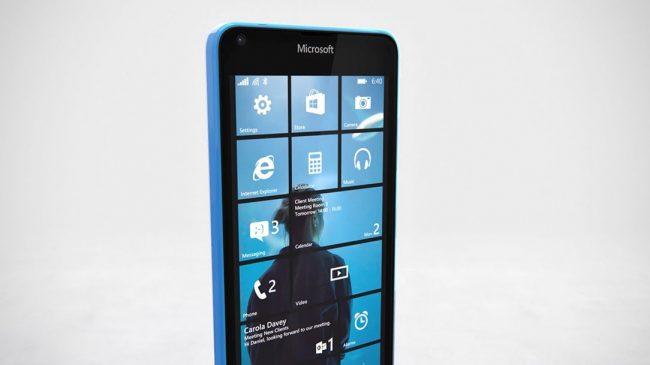 Microsoft Lumia 640 Windows 10 Phone
