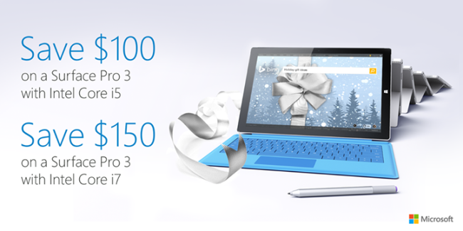 Microsoft Surface Pro 3 Black Friday Deal 2014