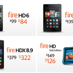 Amazon Fire tablets sale
