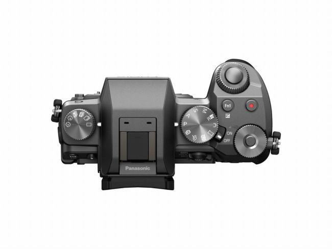 Panasonic DMC-G7KS buttons - silver
