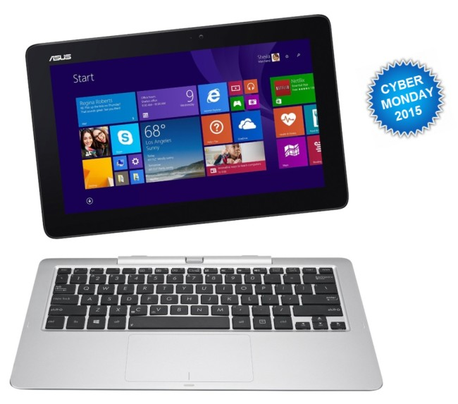 Cyber Monday Laptop Deal Asus Transformer Book T200