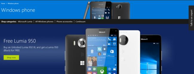 Lumia 950 XL deal