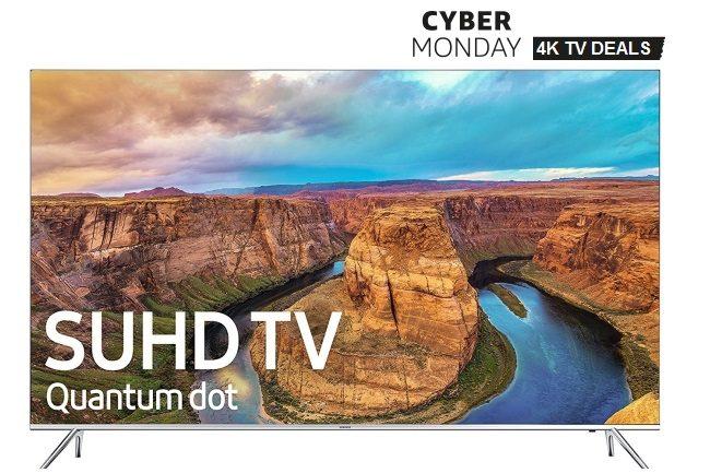 SUHD 4K TV Cyber Monday Sale 2016